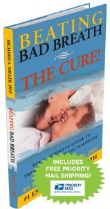 Beating Bad Breath - The Cure hardcover book by Richard A. Miller DDS