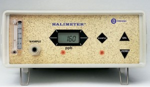 Halimeter breath odor testing machine