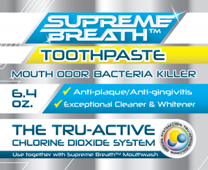 supreme breath toothpaste