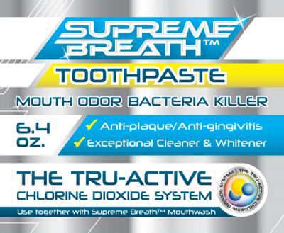 supreme breath toothpaste