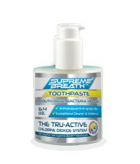 Supreme Breath Active CL02 chlorine dioxide toothpaste