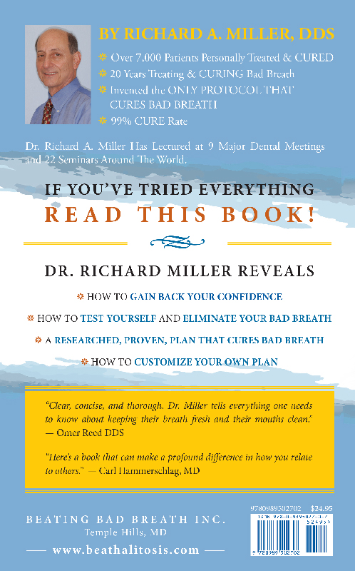 Beating Bad Breath - The Cure book by Richard A. Miller DDS