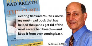 beating bad breath -- the cure