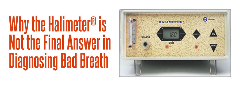 halimeter for diagnosing bad breath