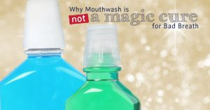 mouthwash doesn't cure bad breath