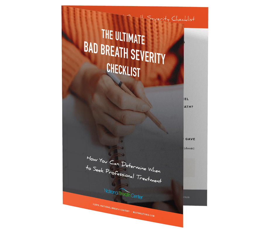 Ultimate Bad Breath Severity Checklist